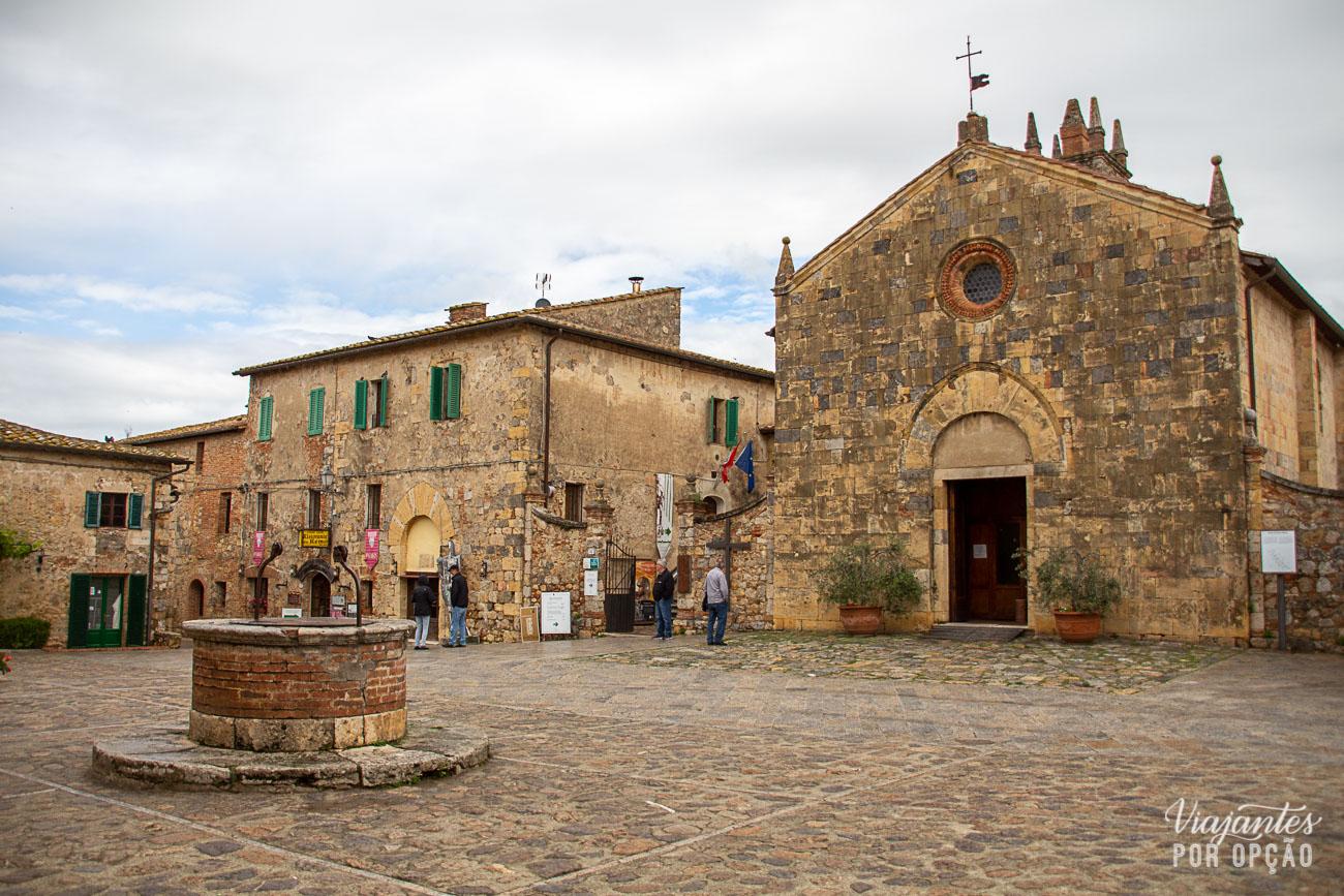 cidades da Toscana - Monteriggioni