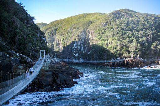 Pontes suspensas do Tsitsikama.